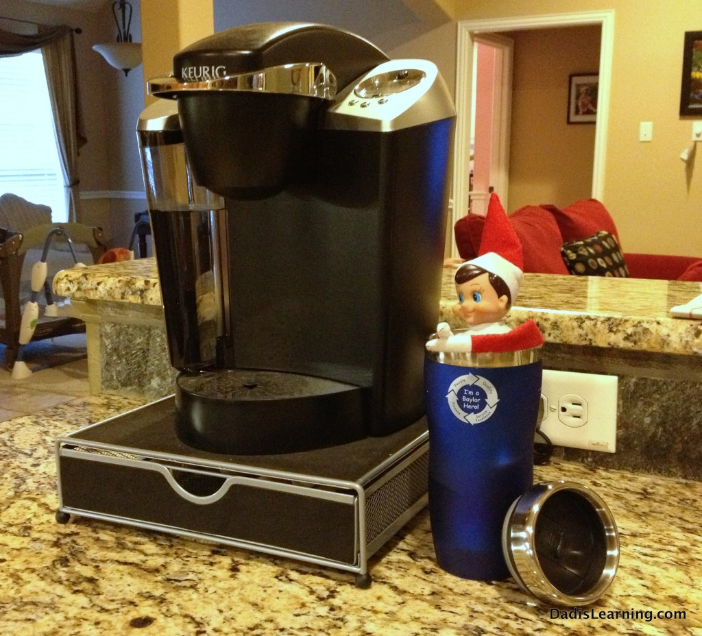 elf on the shelf coffee