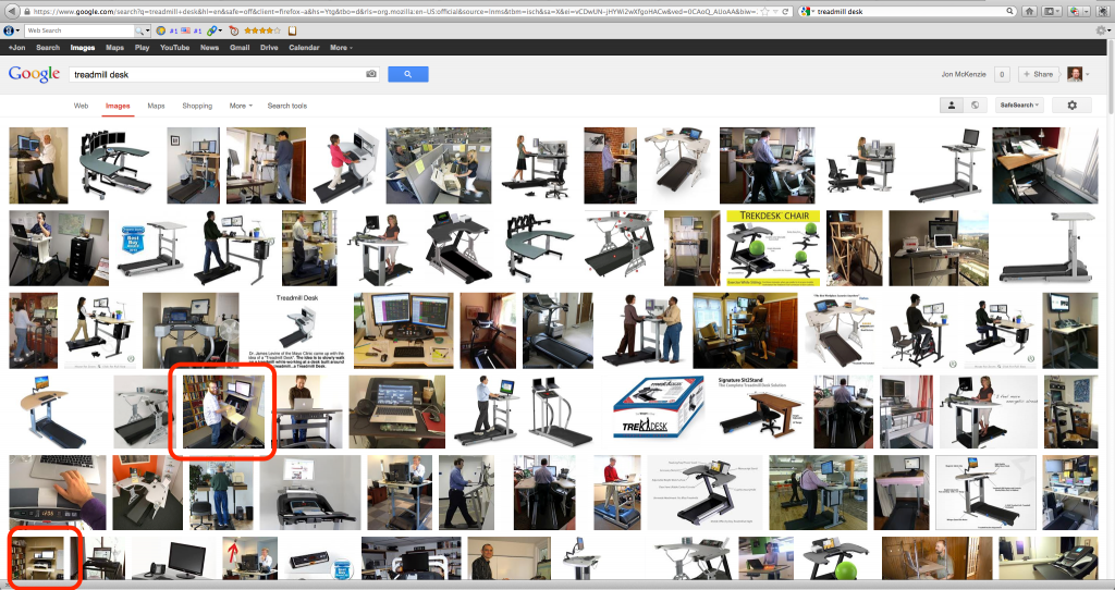 Google Image screenshot