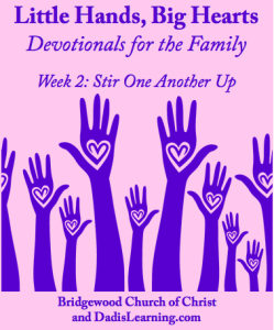 family devotional stir one another up