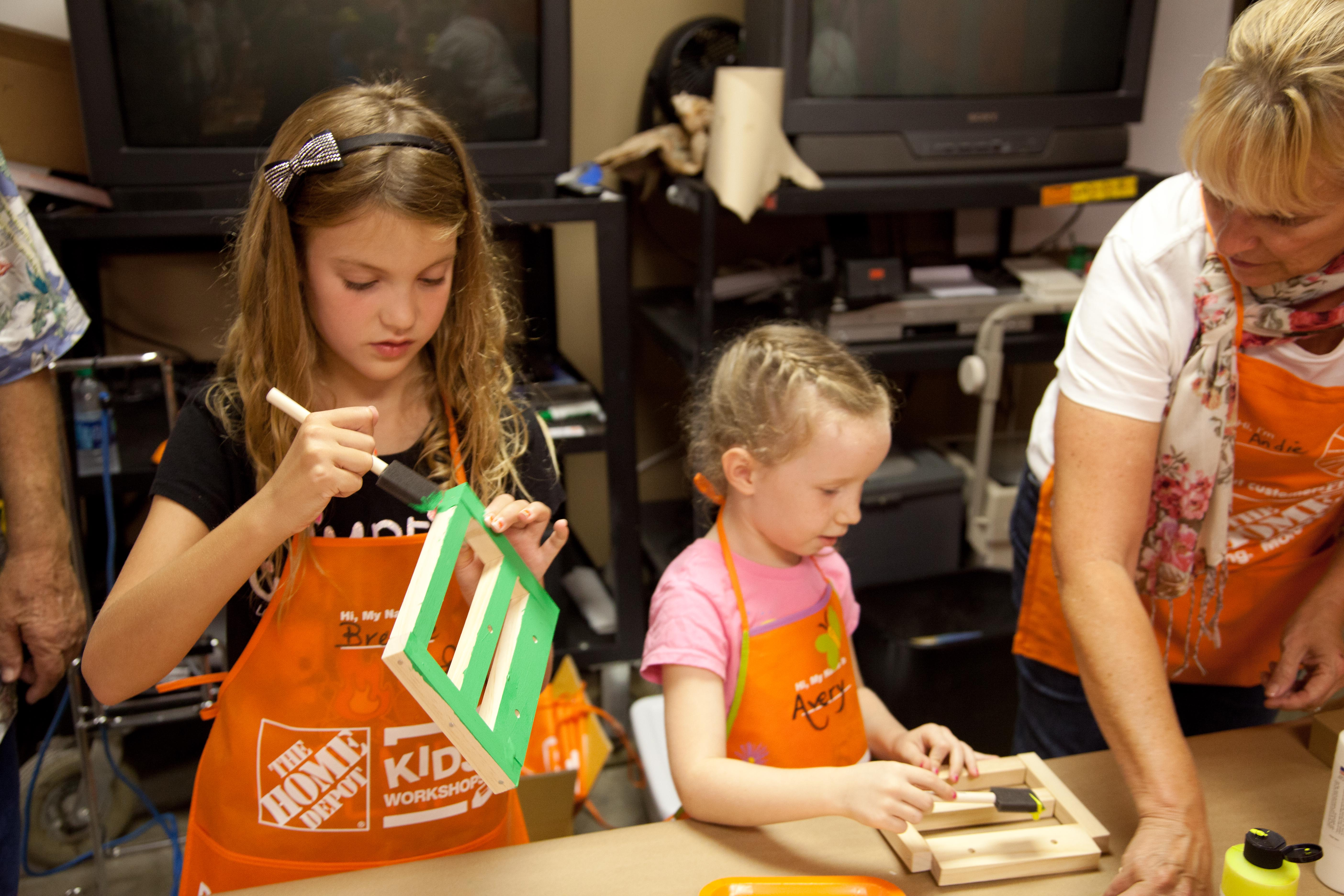 Birthday Party At Home Depot
