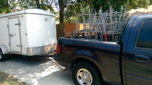 My trailer is my money-maker, but I don't want it to shake so I better put some new tires on it :)