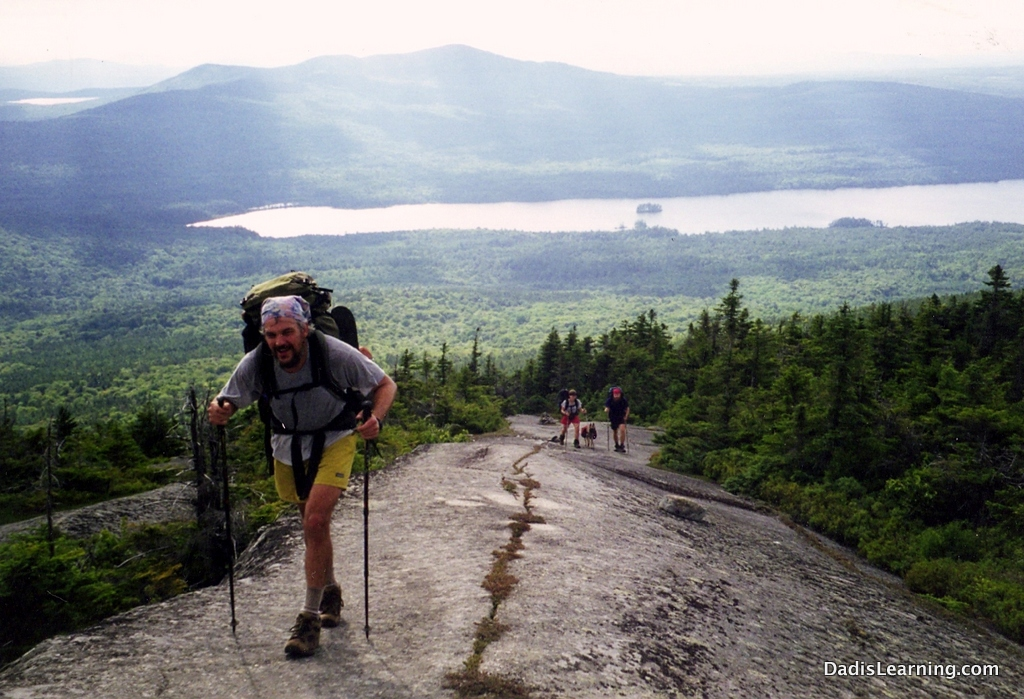 Maine Mountain Appalachian Trail Dad Is Learning