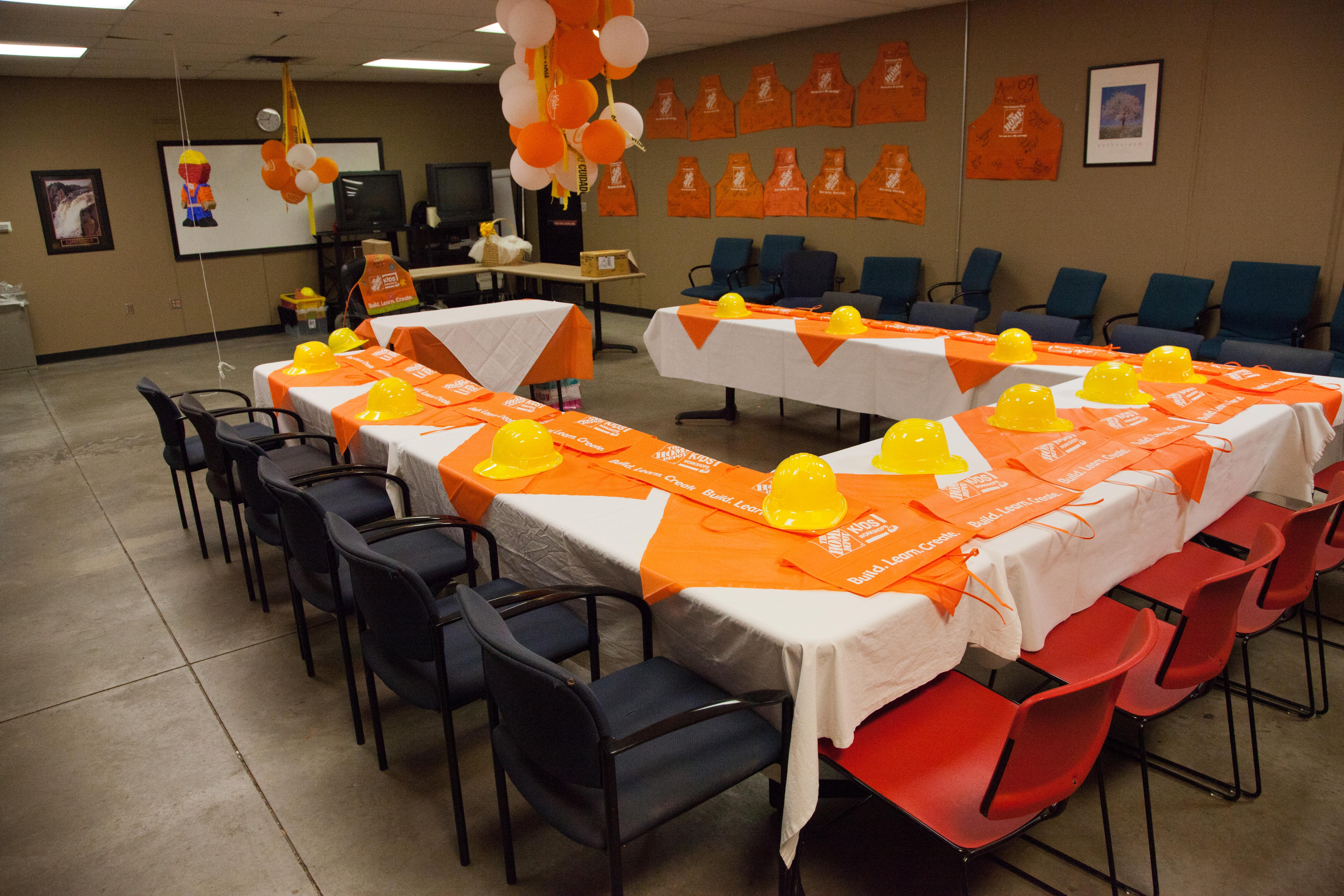 Home Depot Party Room